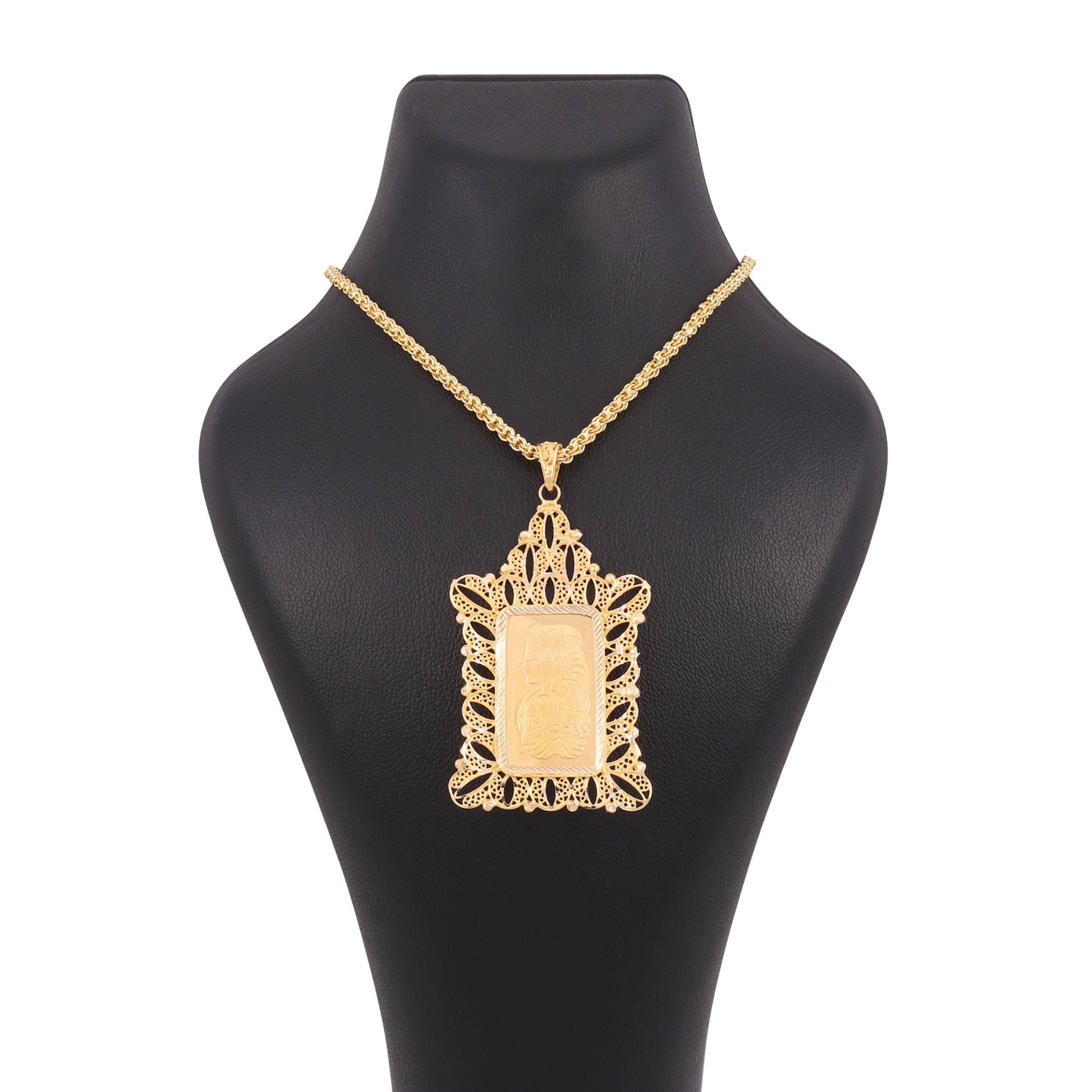 گردنبند طلا 18 عیار زنانه کد G679