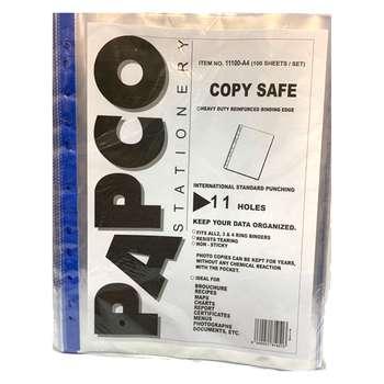 کاور کاغذ A4 پاپکو کد 1100  بسته 100 عددی