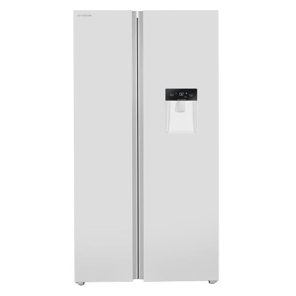 یخچال و فریزر ساید بای ساید ایکس ویژن مدل TS550-AWD/ASD