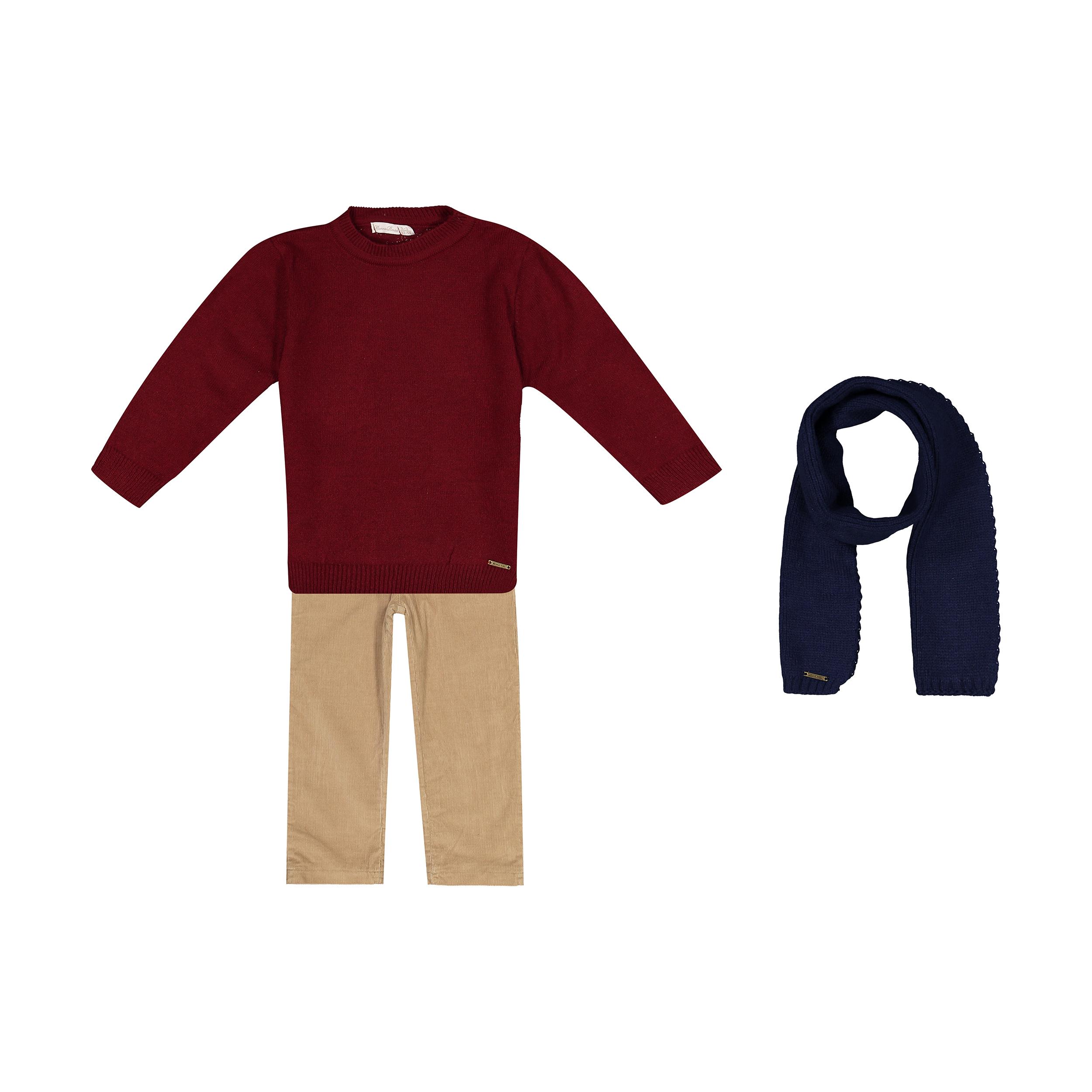 ست 3 تکه لباس پسرانه مونا رزا مدل 2141281-70