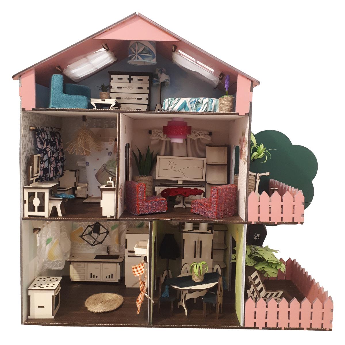 اسباب بازی خانه عروسکی کد 151