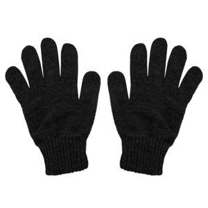 دستکش بافتنی مردانه کد SH1258 رنگ ذغالی