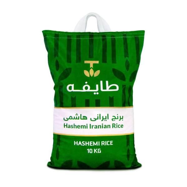 برنج هاشمی معطر درجه یک آستانه اشرفیه طایفه - 10 کیلوگرم