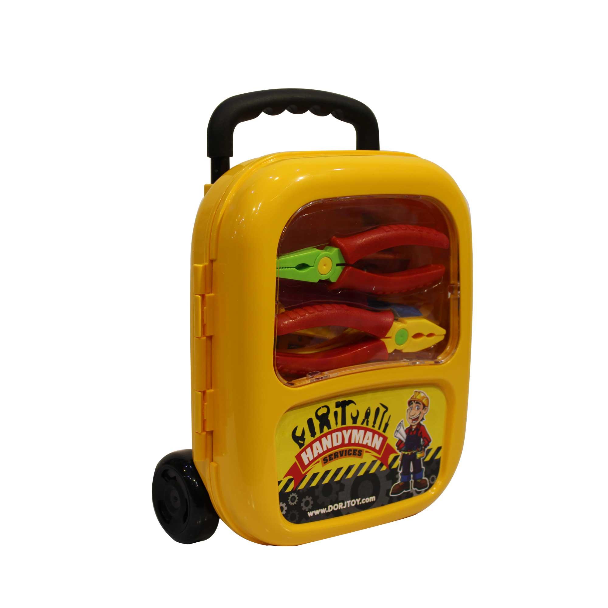اسباب بازی ابزار مکانیکی طرح چمدان