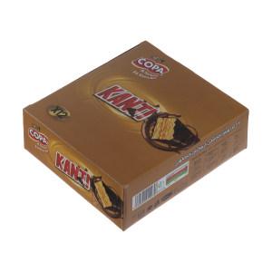 ویفر کاکائویی کانتی کوپا با طعم کارامل - 40 گرم بسته 12 عددی