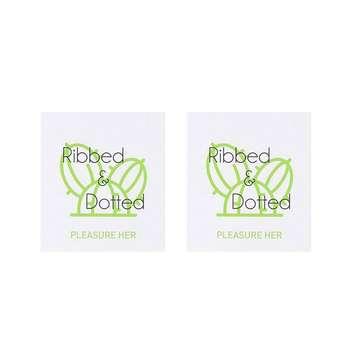 کاندوم چرچیلز مدل Ribbed & Dotted کد Sh0053 مجموعه 2 عددی