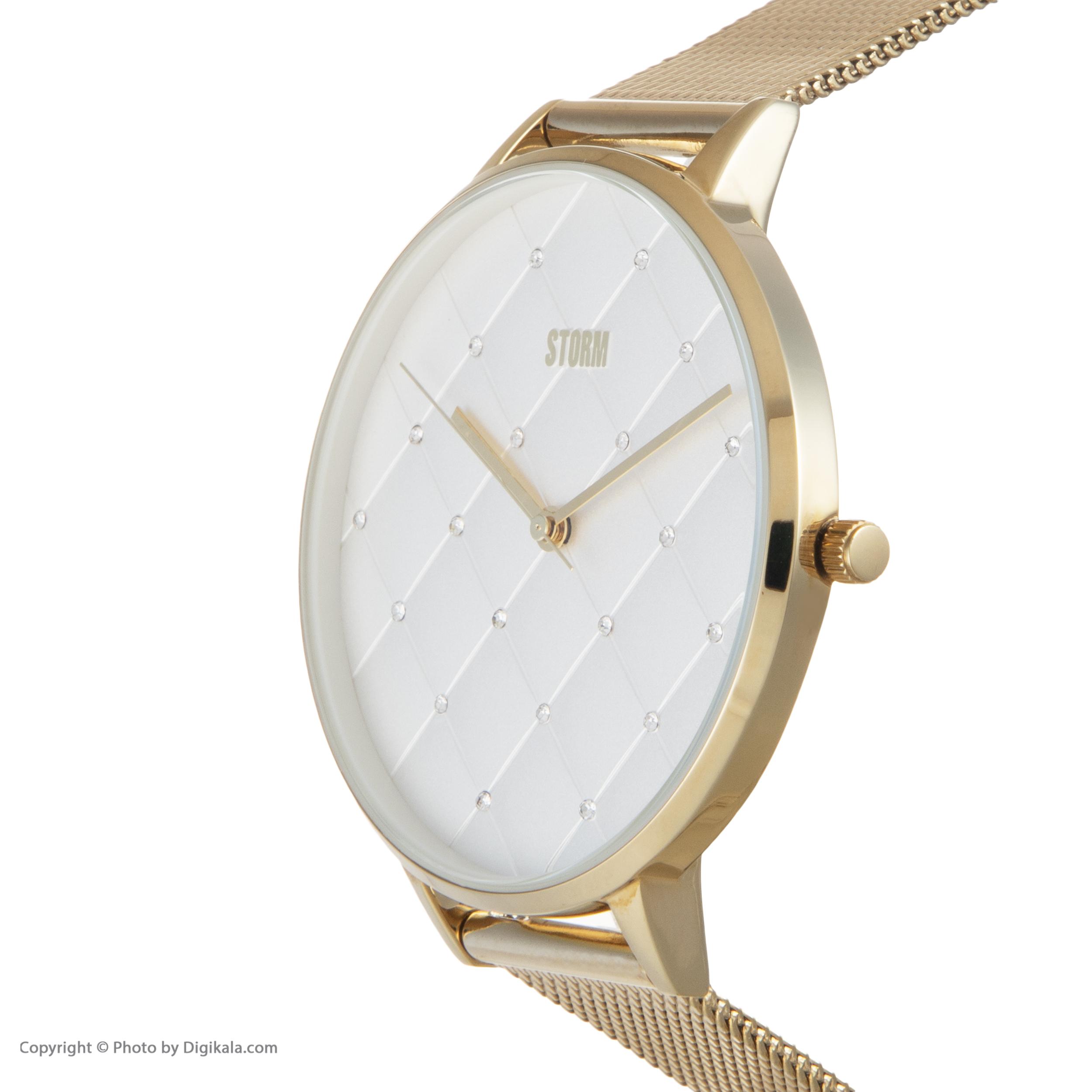 ساعت مچی عقربه ای زنانه استورم مدل ST 47423-GD              ارزان