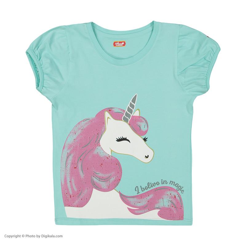 ست تی شرت و شلوار دخترانه مادر مدل 2041104-54