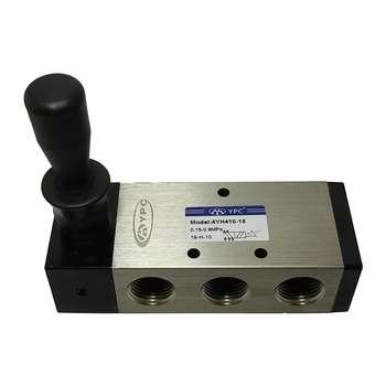 شیر دستی پنوماتیک وای پی سی مدل 4YH410-15-1/2