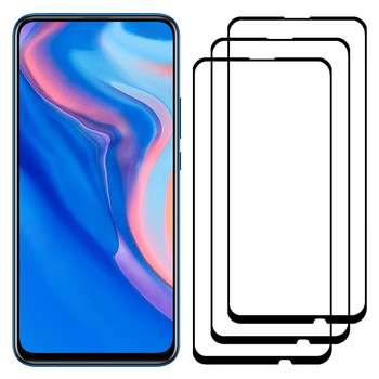 محافظ صفحه نمایش مدل FCG مناسب برای گوشی موبایل هوآوی Y9 Prime 2019 بسته سه عددی