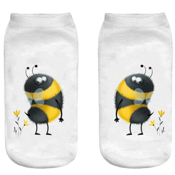 جوراب بچگانه طرح زنبور کد 58