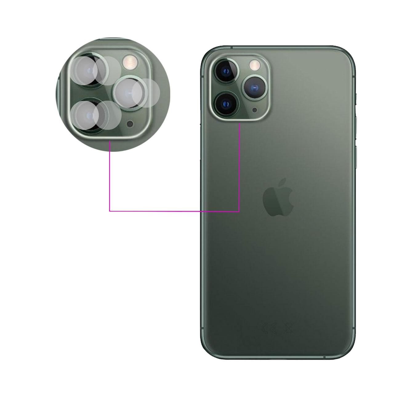 محافظ لنز دوربین مدل LTP مناسب برای گوشی موبایل اپل iPhone 11 Pro بسته دو عددی