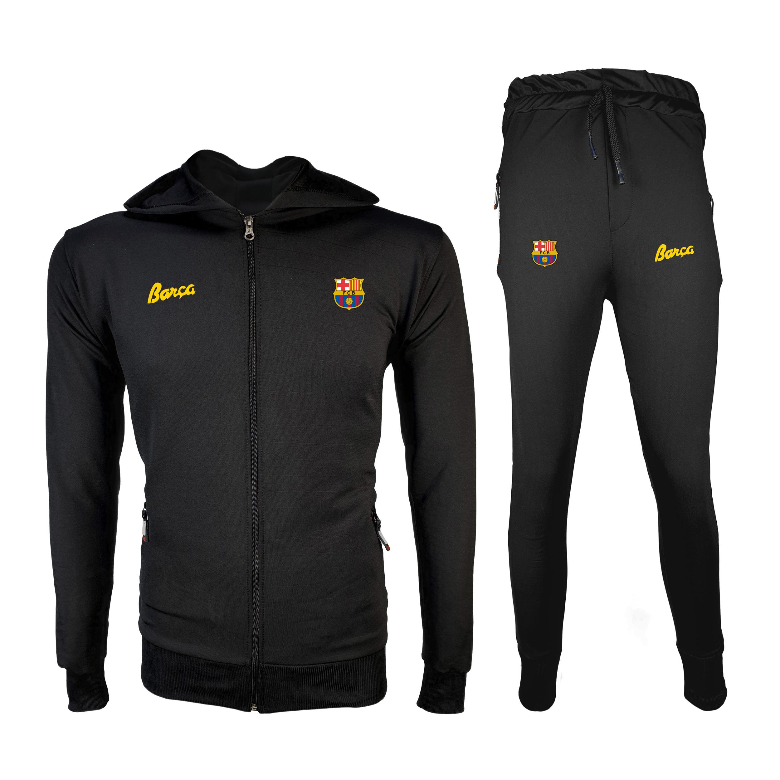ست سویشرت و شلوار ورزشی مردانه پاتیلوک مدل بارسلونا کد 400132