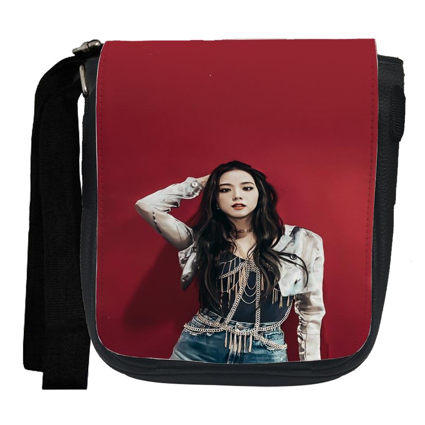 کیف دوشی دخترانه مدل بلک پینک کد dp104
