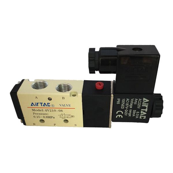 شیر برقی پنوماتیک ایرتک مدل 4v-210-08-220
