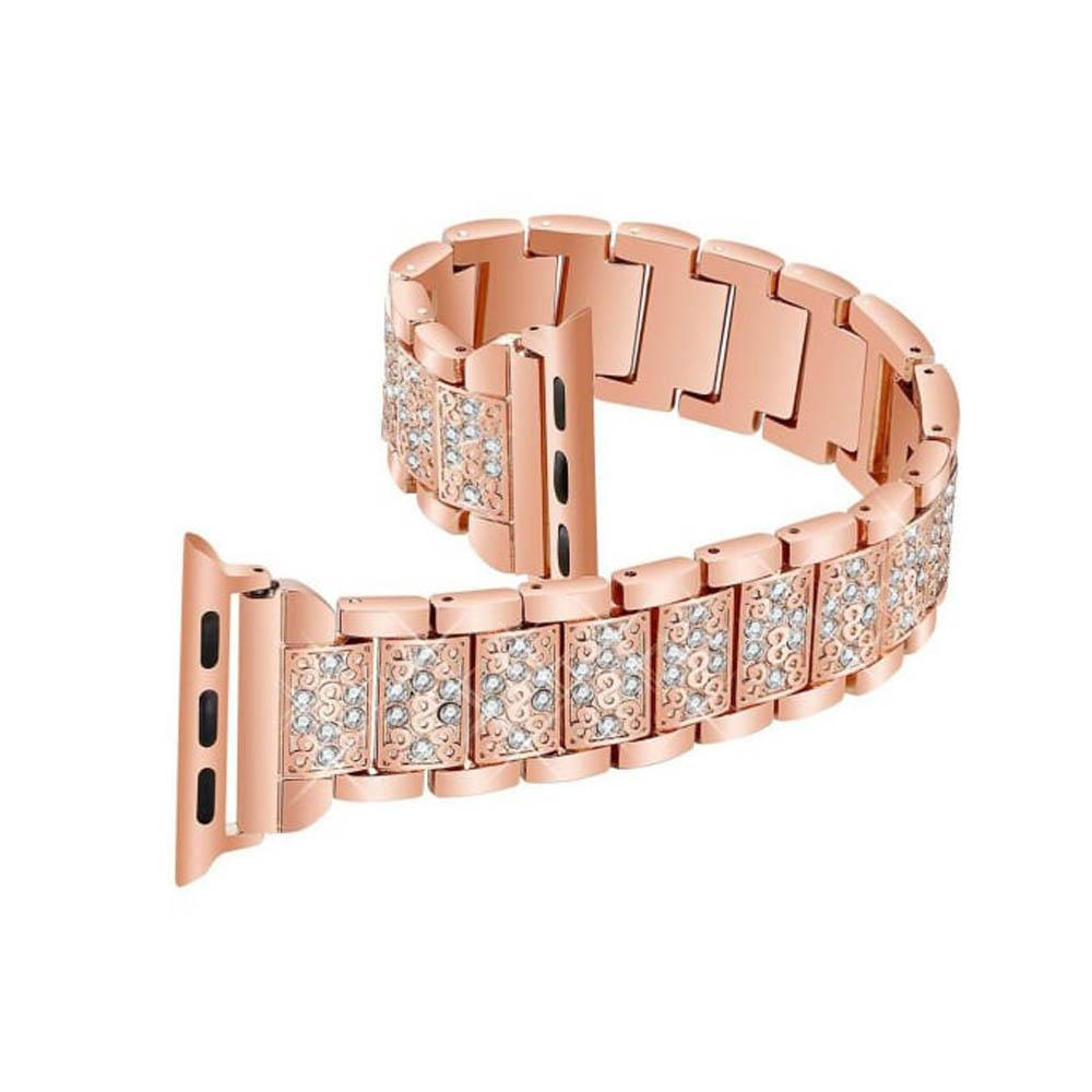 بررسی و {خرید با تخفیف} بند مدل الماس مناسب برای اپل واچ 42/44 میلی متری اصل