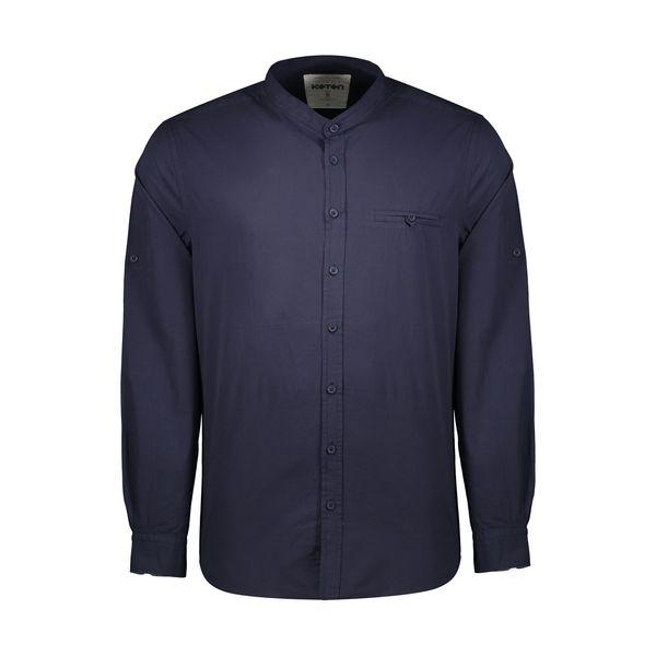 پیراهن آستین بلند مردانه کوتون مدل 8YAM62398BW-711