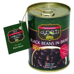 کنسرو لوبیا سیاه در آب نمک لگومین - 400 گرم