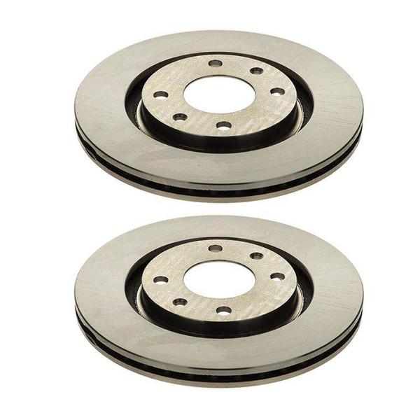 دیسک ترمز چرخ جلو امیرنیا کد 65234 مناسب برای پژو  405 بسته 2 عددی