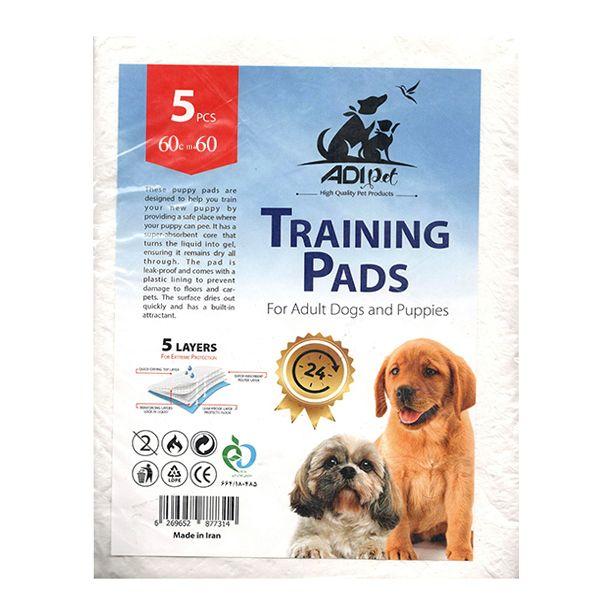 پد زیر انداز بهداشتی سگ آ دی کد 6060 بسته 5 عددی