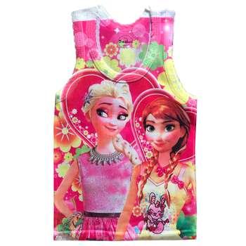 تاپ دخترانه تروسکان مدل Frozen2