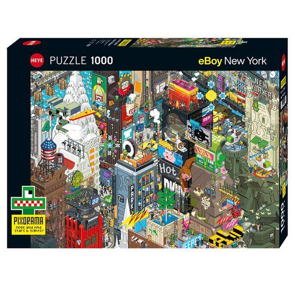 پازل 1000 تکه هه یه مدل NEW YORK QUEST کد 144103