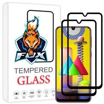 محافظ صفحه نمایش فوکس مدل PT001 مناسب برای گوشی موبایل سامسونگ Galaxy M31 بسته دو عددی