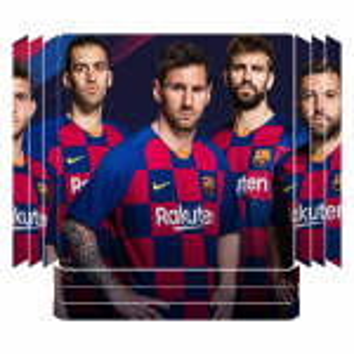 برچسب پلی استیشن ۴ پرو مدل بارسلونا