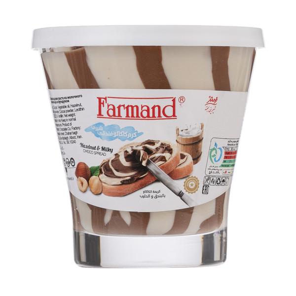 کرم کاکائو فندقی شیری فرمند مقدار 100 گرم