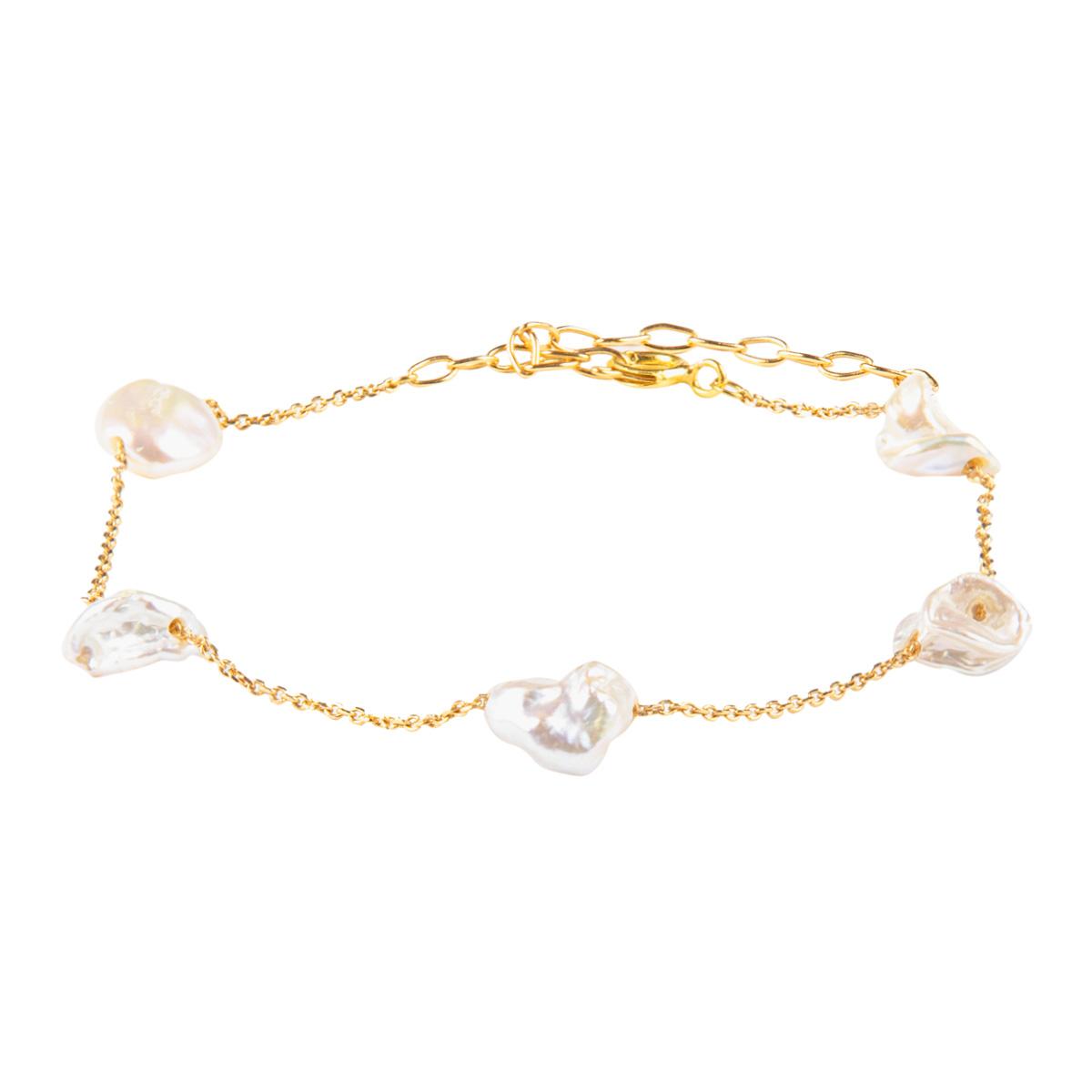 دستبند طلا 18 عیار زنانه ریسه گالری کد P1266