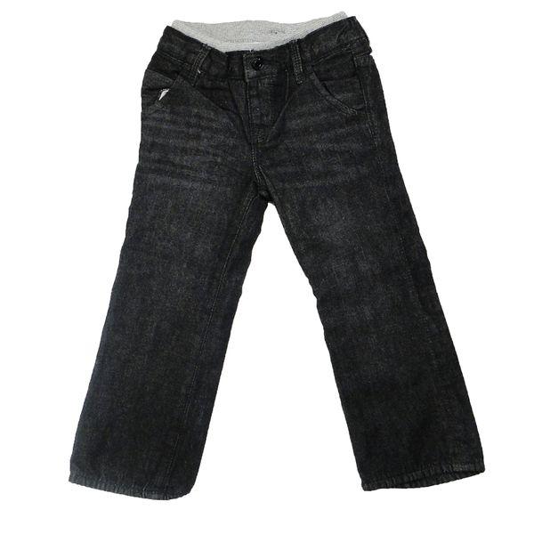 شلوار جین بچگانه مدل SB 143 رنگ زغالی