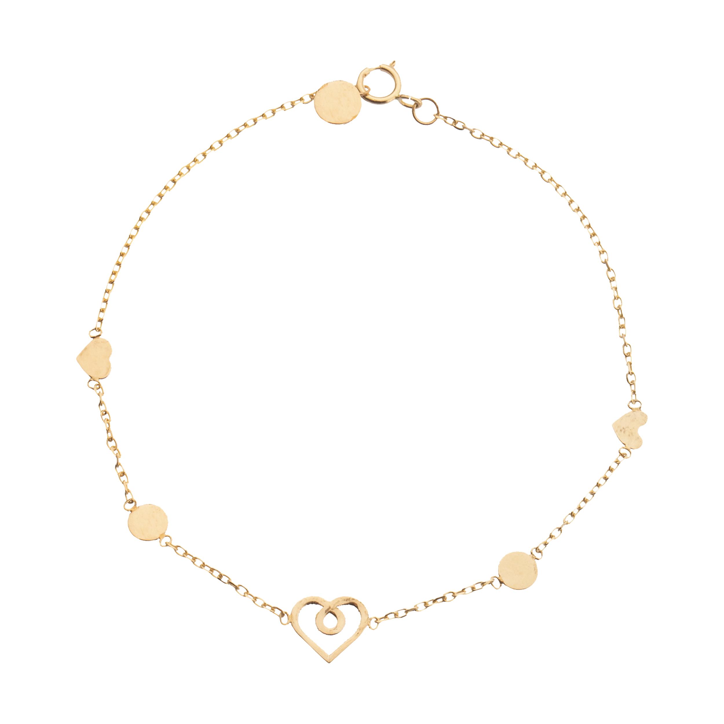 دستبند طلا 18 عیار زنانه ناتروسا مدل NG247