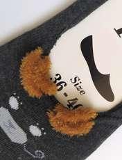 جوراب زنانه پی تی طرح گربه کد J023 -  - 2