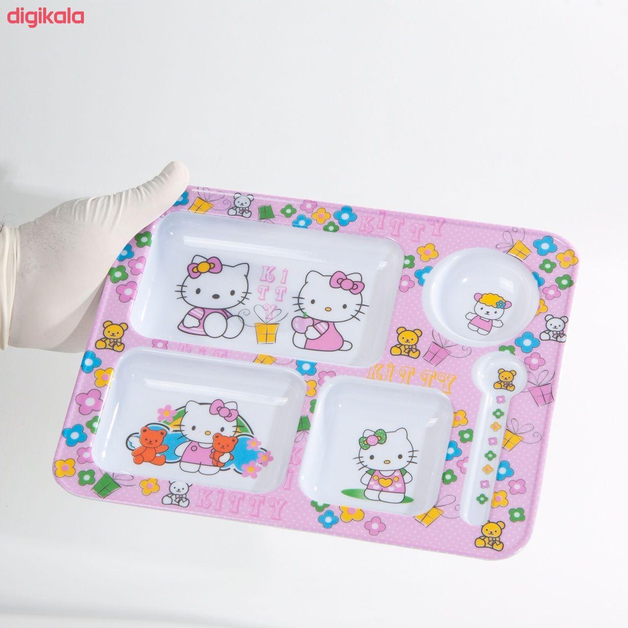 ظرف غذای کودک طرح Hello Kitty مدل 398 main 1 3