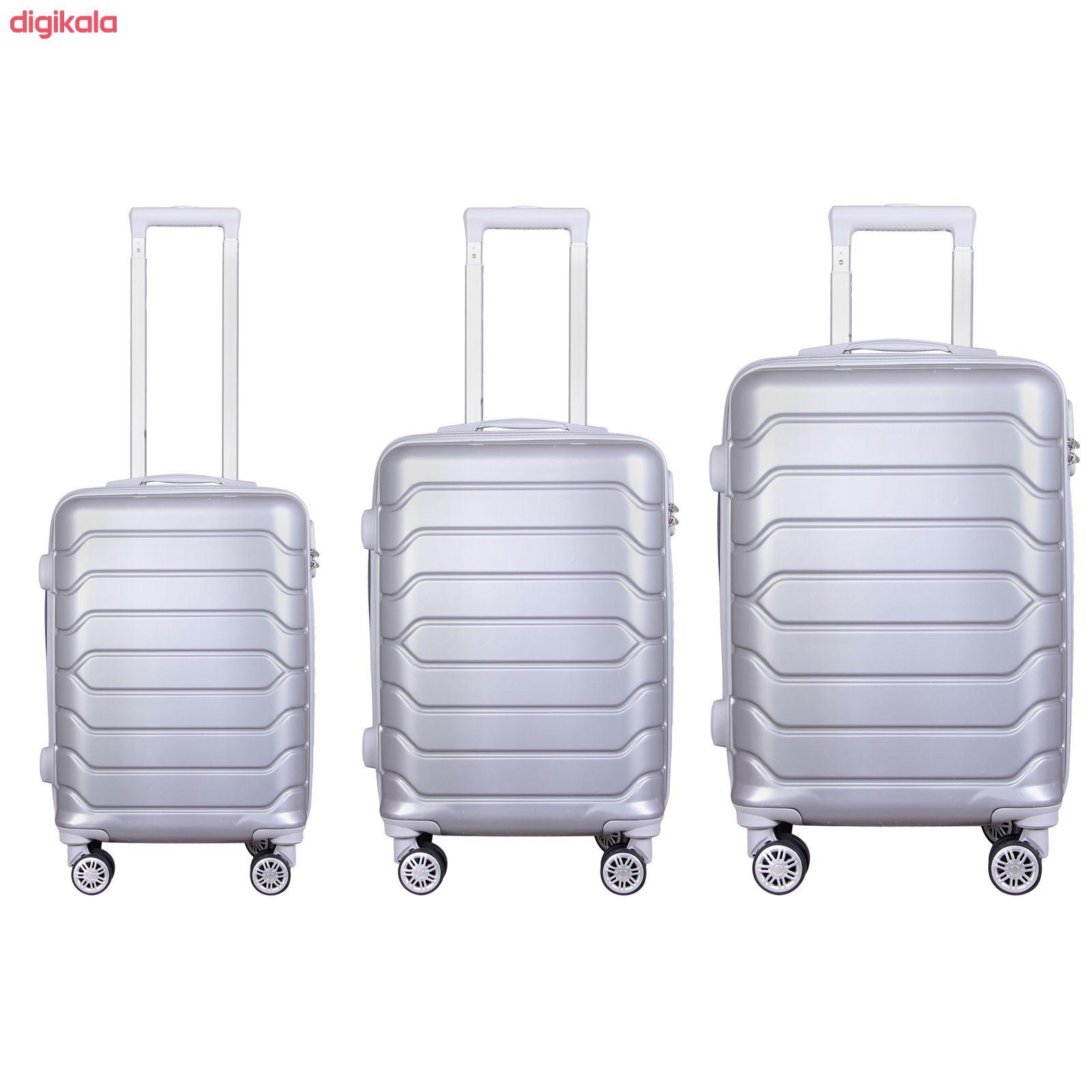 مجموعه سه عددی چمدان مدل 20020 main 1 6