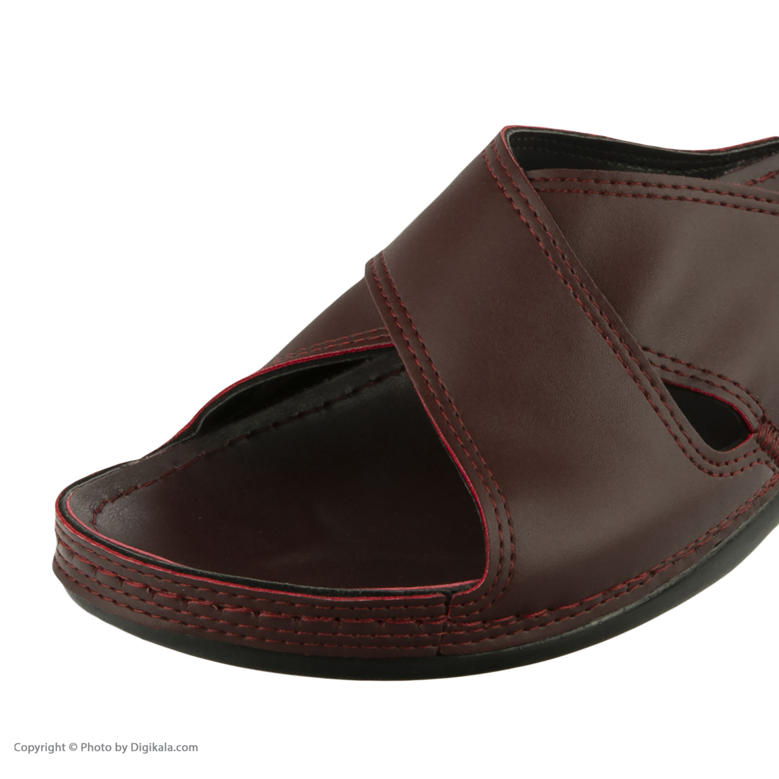 دمپایی زنانه کفش آویده کد av-0304505 رنگ زرشکی -  - 3