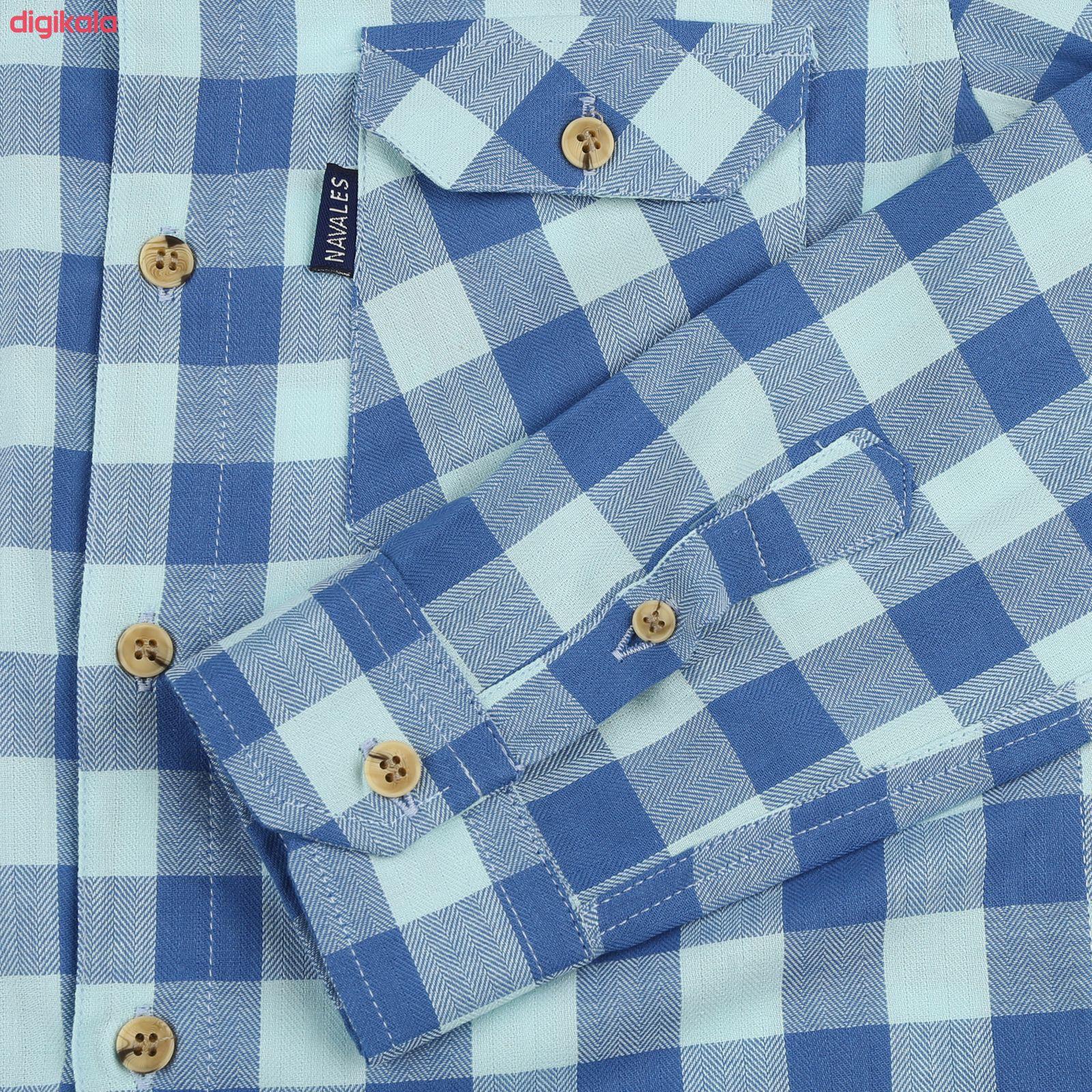 پیراهن پسرانه ناوالس کد D-20119-BL main 1 3