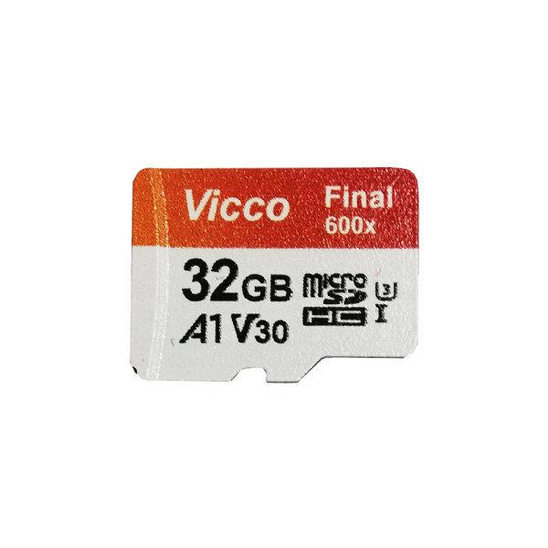 کارت حافظه microSDHC ویکو مدل 600x کلاس 10 استاندارد UHS-I U1 سرعت 90MBps ظرفیت 32 گیگابایت