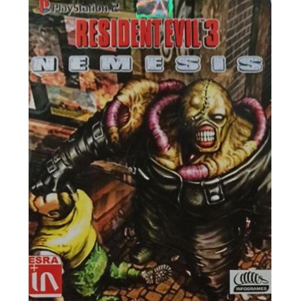 بازی RESIDENT EVIL 3 مخصوص PS2 thumb