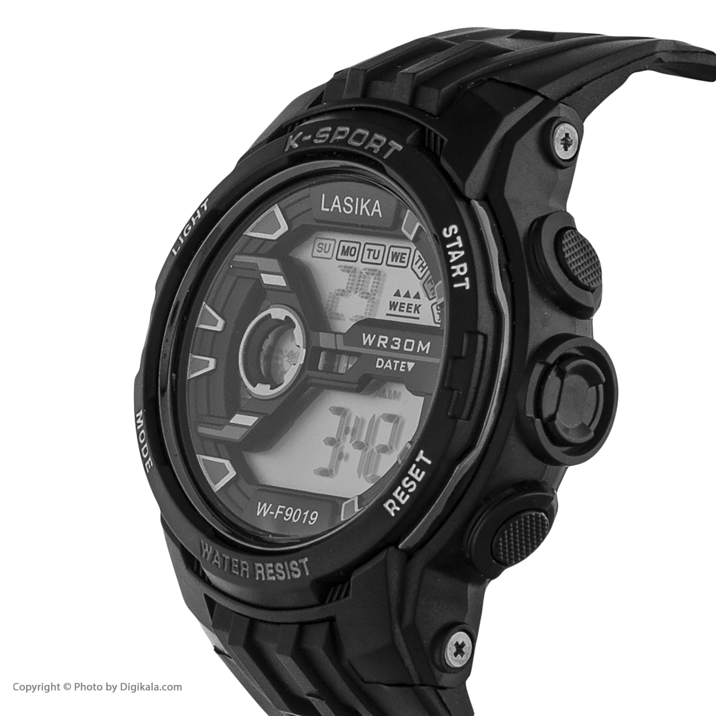 ساعت مچی دیجیتال مدل W-F9019