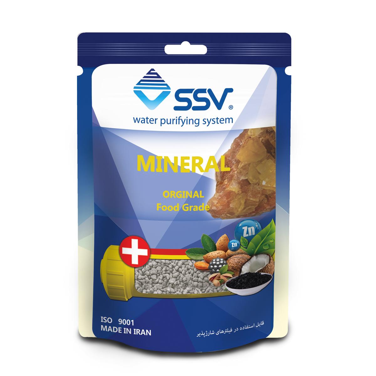 شارژ فیلتر دستگاه تصفیه کننده آب اس اس وی مدل  Mineral وزن 200 گرم