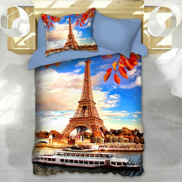 سرویس خواب مدل ایفل Eiffel یک نفره 4 تکه