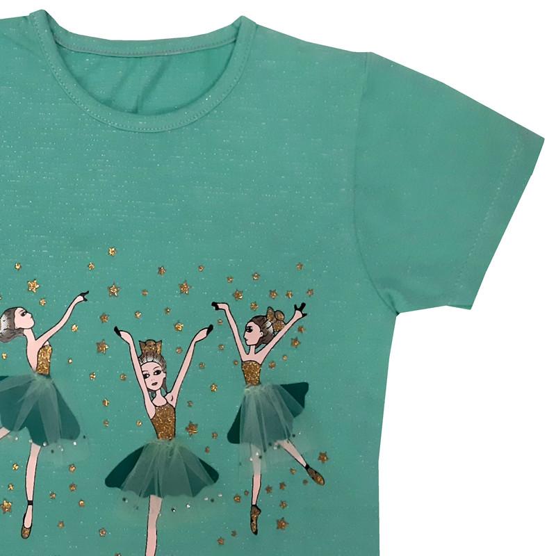 تی شرت دخترانه کد BAGH11