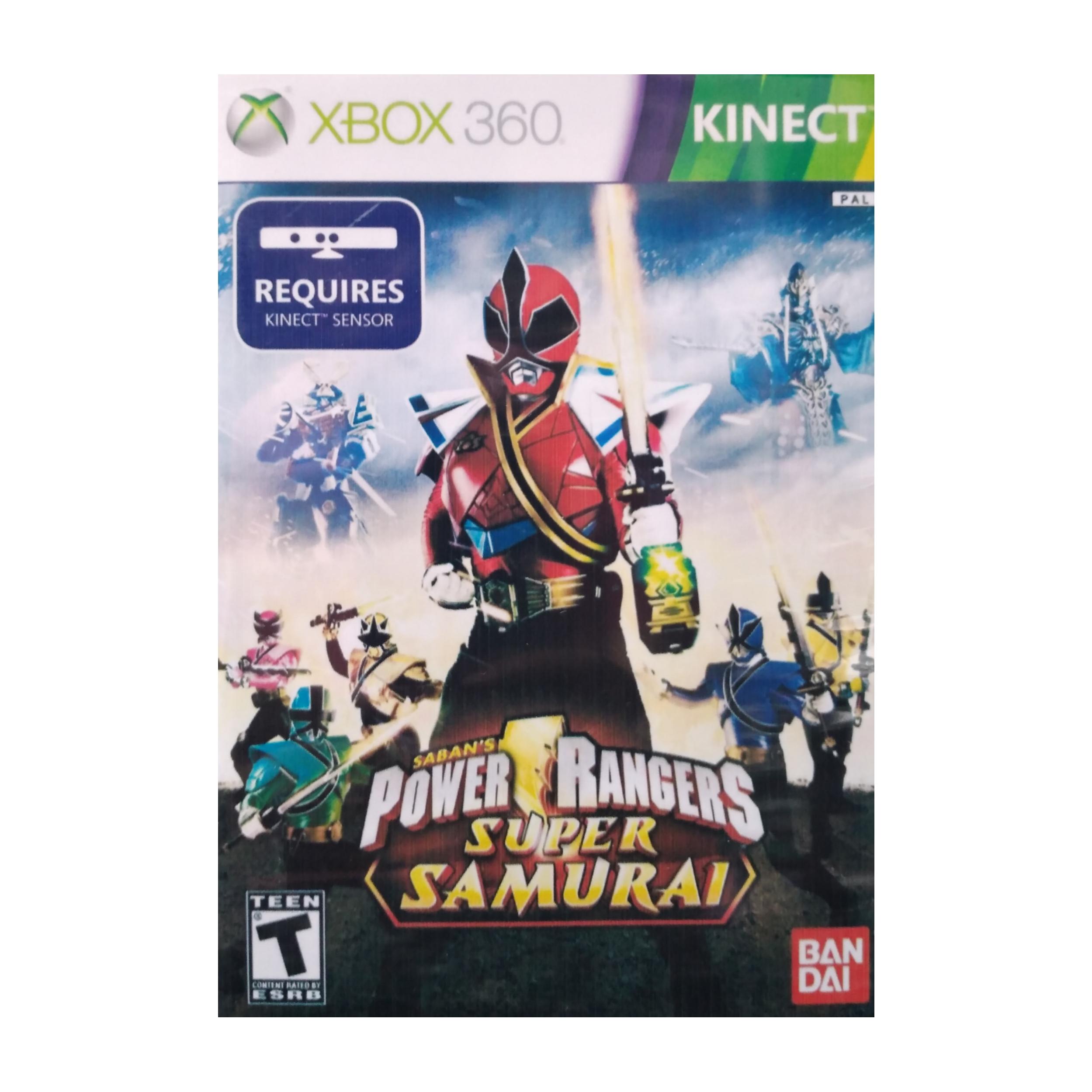 بررسی و {خرید با تخفیف}                                     بازی  KINECT POWER RANGERS SUPER SAMURAI مخصوص Xbox 360                             اصل