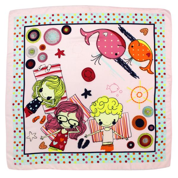 روسری دخترانه کد B644