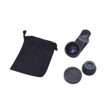 لنز کلیپسی موبایل یونیورسال مدل Clip مجموعه 3 عددی