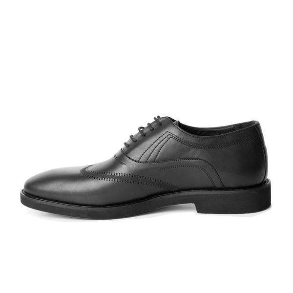 کفش مردانه چرم کروکو مدل 1002002228