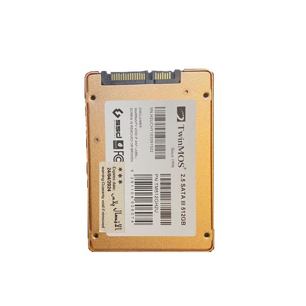 اس اس دی اینترنال توین موس مدل 2.5 اینچ ظرفیت 512 گیگابایت