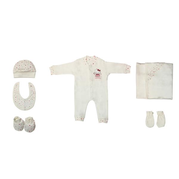 ست 7 تکه لباس نوزادی مادرکر کد 544