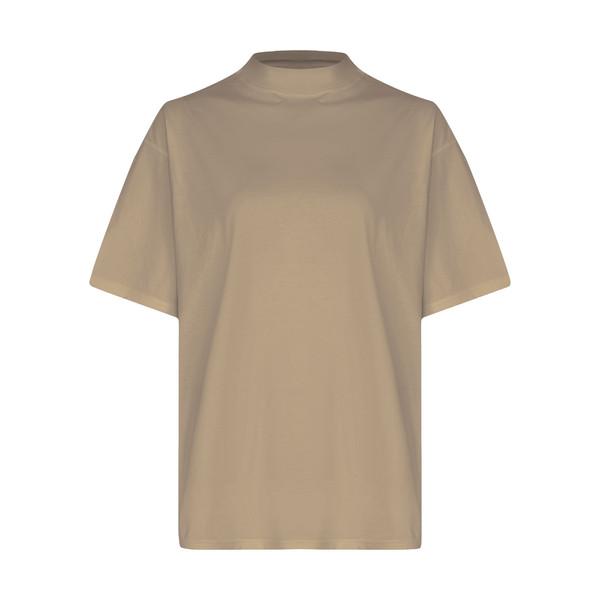 تی شرت آستین کوتاه زنانه گری مدل H45